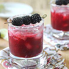 Blackberry Margaritas!