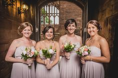 Bridesmaids Portrait, Wedding Photographer, St Mary's Guildhall, Coventry