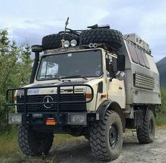 The High Wheel-Based Unimog | 23 Extreme Off-Road Camper Vans That Can Handle Anything