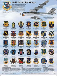 B-47 Bomb Wing Patch Poster