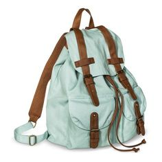 Mossimo Supply Co. Solid Backpack Handbag - Mint