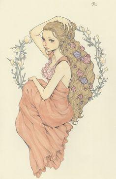 yasahime:  Original Drawings on Storenvy