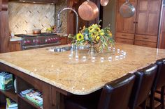 formica countertops that look like granite | madura-gold-granite-countertops-288326 « Capitol Granite