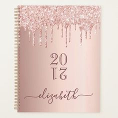Rose gold glitter drips glam girly luxury 2021 planner Rose Gold Pink, Rose Gold Glitter, Happy Birthday Rose, Birthday Gifts, Custom Planner, Glamour, Planning Your Day, Gold Stars, The Help