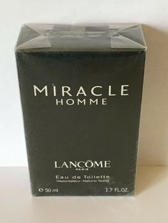 MIRACLE HOMME EDT 50ML NEW FOR MEN SEALED RARE  #Ad , #Sponsored, #EDT#MIRACLE#HOMME Korean Fashion Street Casual, Paris, Seal, Perfume, Fragrances, Eau De Toilette, Fragrance