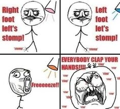 I LOVED doing the cha-cha slide back in HS... this is totally true