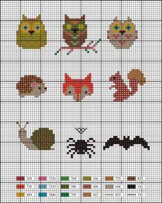 Animal x stitch Hedgehog Cross Stitch, Tiny Cross Stitch, Cross Stitch Needles, Cross Stitch Animals, Cross Stitch Charts, Cross Stitch Designs, Cross Stitch Patterns, Cross Stitching, Cross Stitch Embroidery