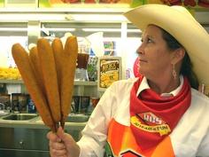Corn Dogs...Texas Style @ Rodeo Houston!