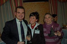 Marco Ardengo e Maria Barbara Bastoni con la vincitrice Denise Presa @ IX° GPAV - Hotel Papadopoli Venezia