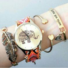 Pulseras y reloj http://i.instagram.com/shopebbo/