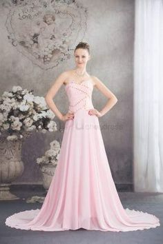 special occasion dresses prom dresses 2014 formal dresses short tight sweetheart plus size train chiffon pink evening dress with beading Cheap Pageant Dresses, Baby Pink Prom Dresses, Beauty Pageant Dresses, Bridesmaid Dresses Uk, Elegant Prom Dresses, Event Dresses, Formal Evening Dresses, Homecoming Dresses, Beautiful Dresses