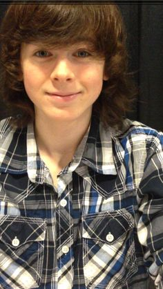 CHANDLER RIGGS - ALL GROWN UP.  2014
