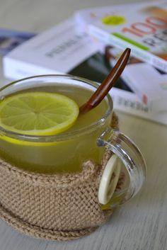 Infusion au citron, gingembre et thym Pour passer l'hiver en pleine forme ! #hiver #santé #rhume #detox #boost