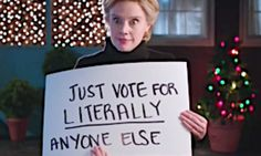 'SNL' Has Hillary Clinton Channel 'Love Actually' To Sway An Elector   The Huffington Post