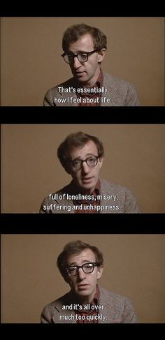 trechinho de annie hall, woody allen