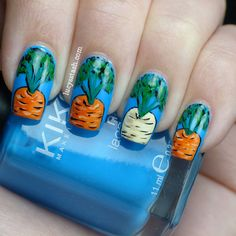 30 cute, creative and crazy nail art designs Crazy Nail Art, Crazy Nails, Cute Nail Art, Cute Nails, Pretty Nails, Easter Nail Designs, Crazy Nail Designs, Easter Nail Art, Nail Art Designs