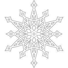 die 8 besten bilder von schneeflocke vorlage   schneeflocke vorlage, schneeflocken und
