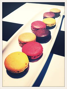 Macarons from Jean Paul Hévin Macarons, Cheesecake, Muffin, Sweets, Breakfast, Desserts, Food, Sweet Pastries, Tailgate Desserts