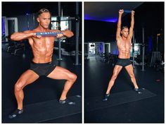 This guy is a bit intense (?!!!) but  great workout moves for better posture.