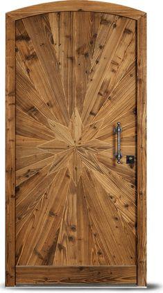 Double Front Entry Doors, Double Doors Exterior, Entry Doors With Glass, Wood Entry Doors, Arched Doors, Wooden Doors, Wooden Sofa, Wooden Main Door Design, Front Door Design