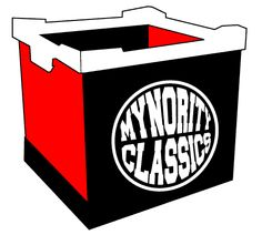 DMR X Mynority Classics Record Container