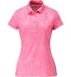 Women s Precision Print Short Sleeve Polo   Golf Town Online db79552c20