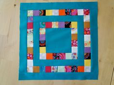 https://flic.kr/p/8ptQms | Bee Europa Block for Isabel | Made by using this free tutorial littlemissshabby.blogspot.com/2010/04/stashbuster-block-2...  Hope you like your blocks Isabel, your quilt is going to be beautiful