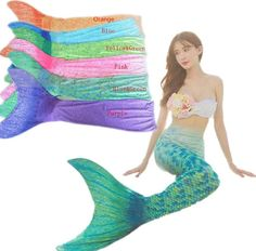 Adult Kids/Children Mermaid Tail With Monofin Swimmable Women Girls Summer Swimsuit Flippers Cosplay Costume Bikini Set Virginia beach AliExpress Affiliate's Pin. Detailed information can be found on AliExpress website by clicking on the image Children's Swimwear, Swimsuits, Monofin Mermaid Tail, Belle Cosplay, Garden Toys, Virginia Beach, Costume Accessories, Summer Girls, Bikini Set