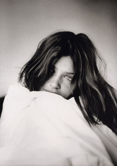 Helena Christensen in Veronique Vial's book Women Before 10A.M. (1998)