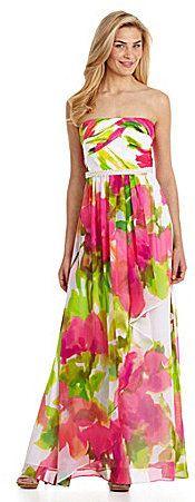 Calvin Klein Floral Dress on shopstyle.com