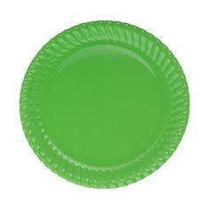 Yeşil Karton Tabak 8-li
