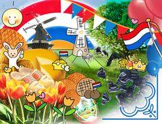 Postkaart Rood Wit Blauw www.hipenstipkaarten.nl