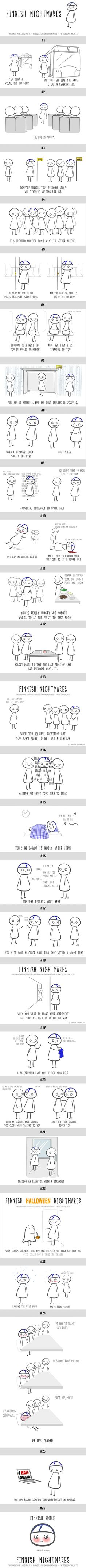 26 Comics Of Finnish Nightmares Even Non-Finns Can Relate To (By Karoliina Korhonen) - 9GAG