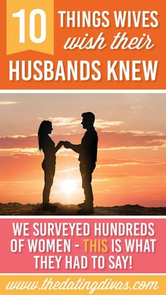 The top ten things that wives want their husbands to know!