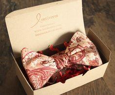 Custom mens fashion, bow ties