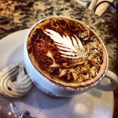 Photos at Polos Pães e Doces - Goiânia, GO - latte art -cappuccino