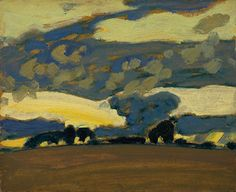MacDonald: Fall Evening, Thornhill, Canadian Group of Seven Tom Thomson, Emily Carr, Canadian Painters, Canadian Artists, Abstract Landscape, Landscape Paintings, Group Of Seven Paintings, Art Gallery Of Ontario, Jackson