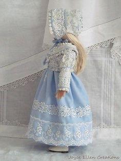 13-Effner-Little-Darling-BJD-fashion-Blue-Regency-style-OOAK-handmade-by-JEC. Ends 8/17/14. SOLD for $108.50