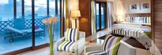 Marina suite at Sifawy hotel