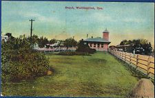 1910 WEATHERFORD, TX Texas RAILROAD TRAIN DEPOT