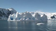 Strange Ice Berg Sub Antarctic Island Stock Footage Video | Getty ...