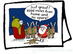 Santa Humor : )