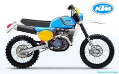 New enduro bikes with classic look? - ADVrider