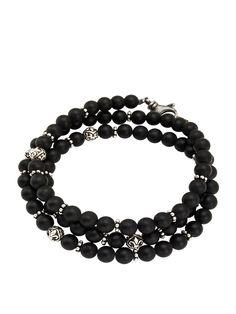 Men's Wrap-Around Bracelet | Nialaya Jewelry