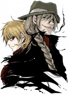 Seras Victoria and Pip Bernadotte from Hellsing Manga Anime, Manga Art, Anime Art, Me Me Me Anime, Anime Love, Hellsing Ultimate Anime, Seras Victoria, Hellsing Alucard, The Blues Brothers