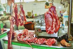 The butcher section at a local market in Beijing #beijing #china #market #tour #fresh #meat #butcher #tastetravel #tastetravelfoodadventuretours #sunshinecoast #australia #travel #traveler #holiday #vacation #food #eat #instatravel #instafood #instagood