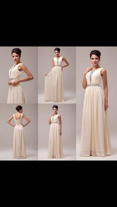 Vintage Bridesmaid's dress long and stunning