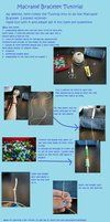 Macrame Bead Bracelet Tutorial by ~caipecraft on deviantART