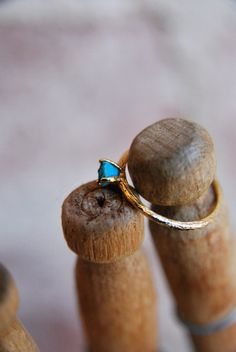Turquoise Ring (really, I like diamonds. but not that much. All these different stones make me happy.)