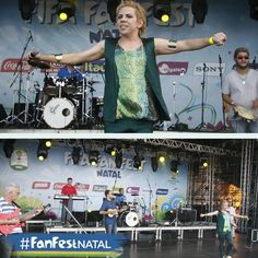 Alô alô, viva o BRASIL o/ O show de Rodolfo Amaral e Banda trouxe ao palco da #FanFestNatal muita brasilidade e tradições da história da MPB. Teve Carnaval, Samba, Choro e homenagens à época áurea do rádio! #natal #natalhostcity #brazil2014 #fifaworldcupbrazil #amelhortorcidadobrasil